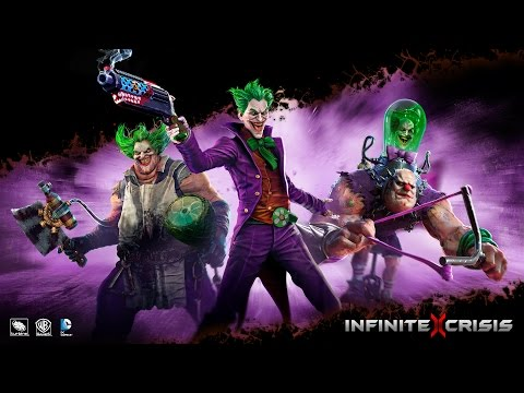 Nightmare - Infinite Crisis' September 2014 update includes two playable characters, Atomic Joker and Nightmare Robin. We run through their skills and roles in combat with the game's developers.