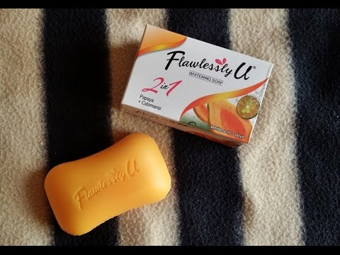 Flawlessly U 2 in 1 Whitening Soap Review as endorsed by NADINE LUSTRE!