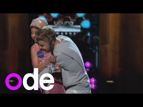 Prepare to get emotional! Justin Bieber honours Make-A-Wish fan at Young Hollywood Awards