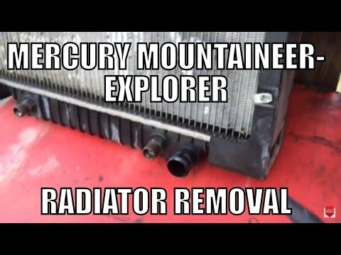 Mercury Mountaineer/Explorer Radiator Replacement (видео)