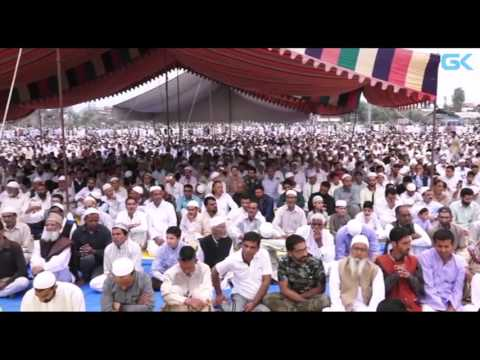 Huge congregations as Kashmir celebrates Eid-ul-Fitr