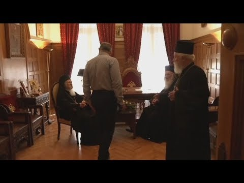 Ο Πατριάρχης Βαρθολομαίος στον Αρχιεπίσκοπο Ιερώνυμο