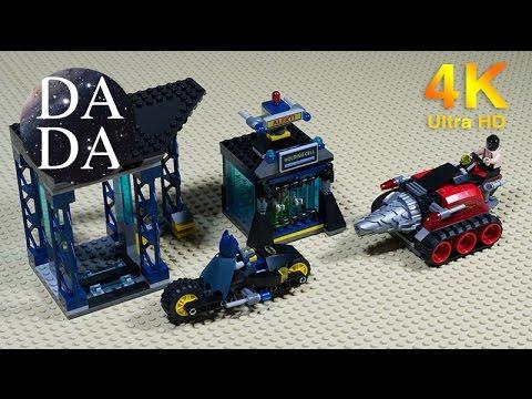 Vidéo LEGO DC Comics Super Heroes 6860 : La Batcave