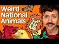 Weirdest national animals
