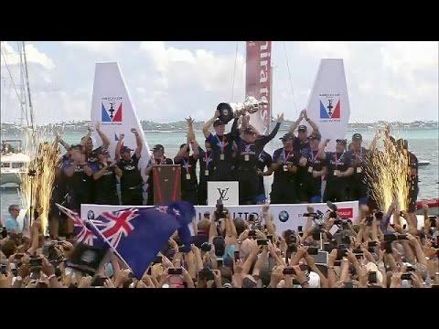 Ιστιοπλοΐα: H Εmirates Team της Ν Ζηλανδίας κατέκτησε το America's Cup