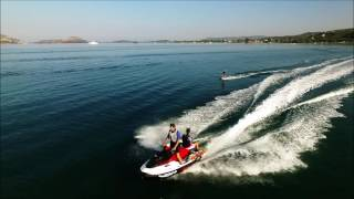 6. Seadoo Wake Pro 215 pulling wakeboarders in Navarino Part Three