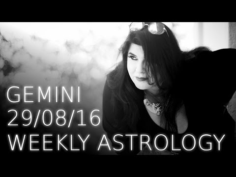 Gemini weekly astrology 29th August 2016