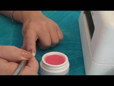 How to paint a french manicure at home