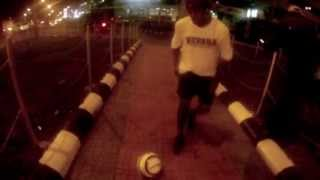 Soccer Tricks In The Streets Of Addis Ababa, Ethiopia