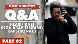 Video Q&A Reza Arap Oktovian [Part 2] - Klarifikasi Tentang Rapstronaut MP3, 3GP, MP4, WEBM, AVI, FLV Mei 2018