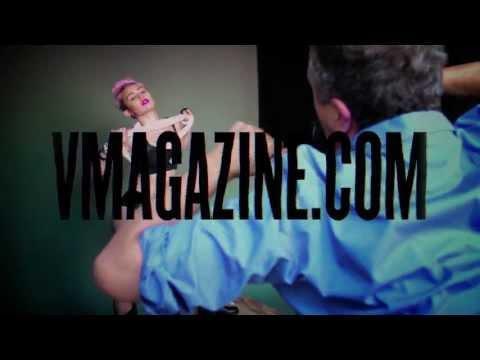 Miley Cyrus nue en vidéo.