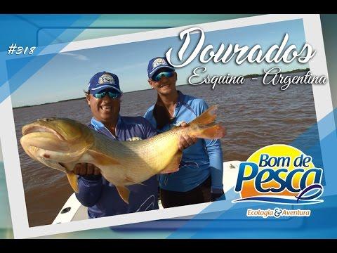Bom de Pesca - Grandes Dourados em Esquina Argentina