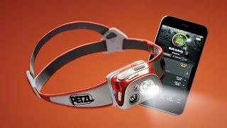 REACTIK + Bluetooth headlamp with Reactive Lighting Technology by Petzl Sport