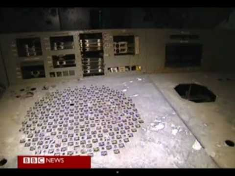 View Inside - Chernobyl's - Nuclear reactor 25 years after