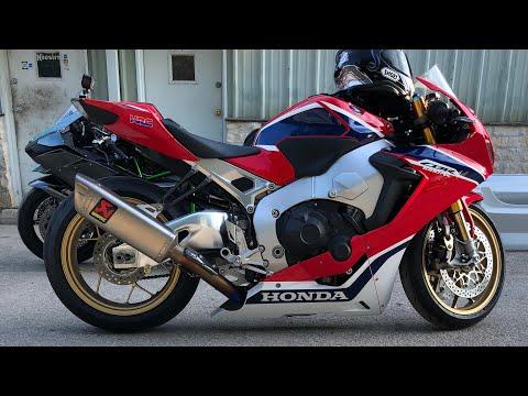 Motorcycle Street Racing - GSXR 1000 vs Honda CBR 1000RR vs BMW S1000RR vs Kawasaki ZX10R