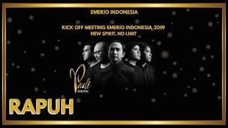 Video Padi Reborn Feat. Ariel Noah - Rapuh | Kick Off Meeting Emerio Indonesia 2019 | New Spirit, No Limit MP3, 3GP, MP4, WEBM, AVI, FLV April 2019