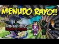 """""""MENUDO RAYO!!"""" - Juegos del hambre c/ VEGETTA777 y Luzu - MINECRAFT - sTaXxCraft"""