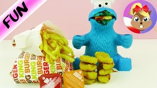 King nuggets dla potwora ciasteczkowego! Burger King Food Polski Recenzja - nowe duże nuggetsy SUBSKRYBUJ nasz kanał...