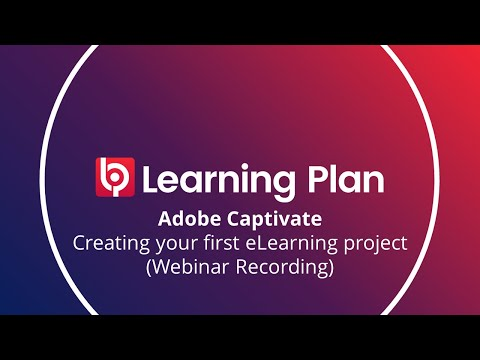 Adobe Captivate 2017 for Beginners - Creating your first eLearning project (Webinar Recording)