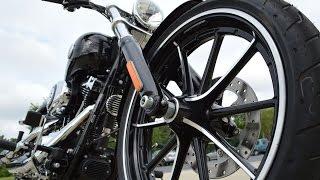 6. SOLD! 2014 Harley-Davidson® FXSB - Softail® Breakout® Vivid Black