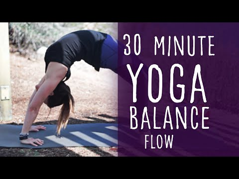 30 Minute Morning Yoga Vinyasa Flow For Balance With Fightmaster Yoga