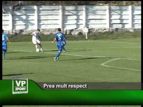 Prea mult respect