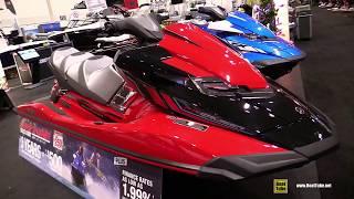 7. 2017 Yamaha FX Cruiser SVHO Jet Ski - Walkaround - 2017 Toronto Boat Show