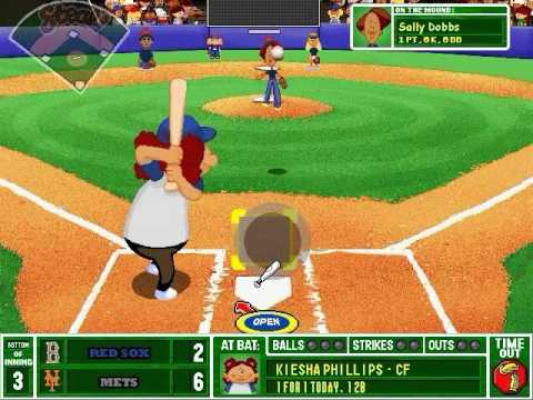 backyard baseball 2003 gameplay by legoking831 game video walkthroughs