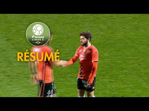 FC Lorient - Châteauroux ( 2-1 ) - Résumé - (FCL - LBC) / 2018-19