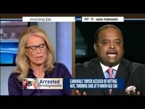 MSNBC female panel moan and groan when Ronald Martin brings up the double standard on female abuse charges