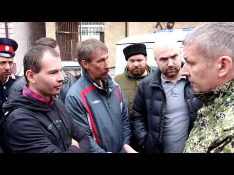 Атаман ставит на место провокаторов навальнят