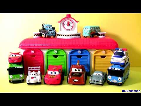 Tayo the Little Bus Garage Disney Pixar Cars - 타요 꼬마버스 타요 중앙차고지. 디즈니카 (영화) - тайо Игрушки