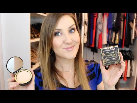 Cocoa Powder Foundation Review & Demo - Too Faced