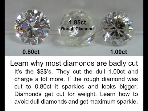0 How To Select A Beautiful Diamond Part 4 Carat Weight
