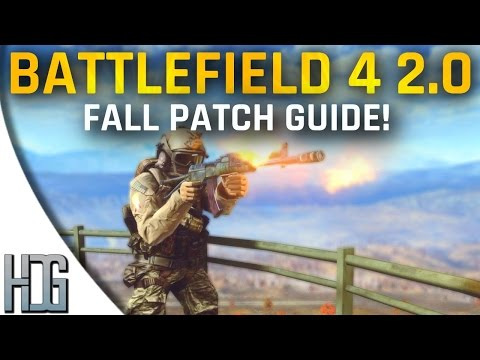 2.0 - Finally the Fall patch is here from CTE! It's pretty big, tons and tons of updates. Hopefully this guide should help you transition into Battlefield 4 2.0 a little more easier! My CTE video...
