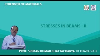 Lecture - 27 Stresses In Beams - II