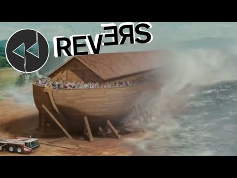 Evan Almighty - The Flood Comes Scene in REVERSE!