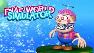 NIGHTMARE BALLOON BOY!! | FNAF World Simulator