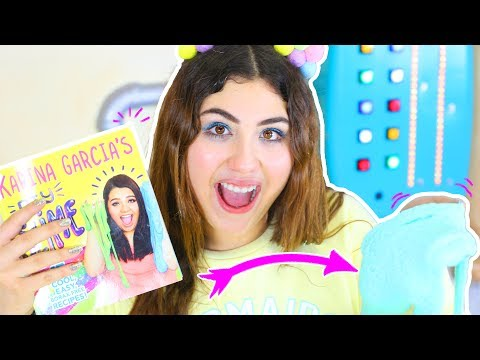 TESTING KARINA GARCIA BOOK SLIME RECIPES! Balloon, kinetic, non-stick thick | Slimeatory #85