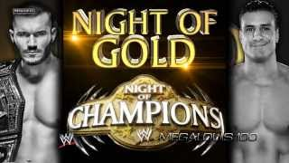 WWE Night of Champions 2013 2nd Official Theme Song - ''Night of Gold'' With Download Link