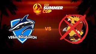 Vega Squadron против NoBountyHunter, Первая карта, BTS Summer Cup