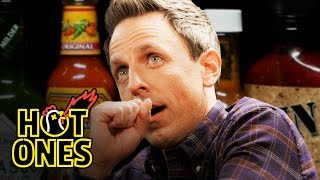 Seth Meyers Unravels While Eating Spicy Wings | Hot Ones