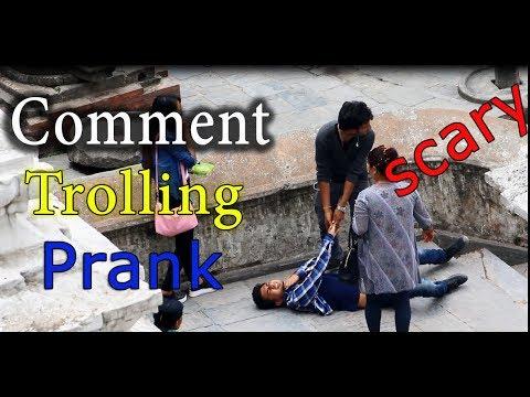 (New Nepali Prank || Comment Trolling | Laddu prank | Ball prank...10 min.)