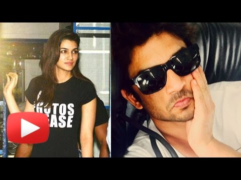 Kriti Sanon TIGHT SLAP To Sushant Singh Rajput On