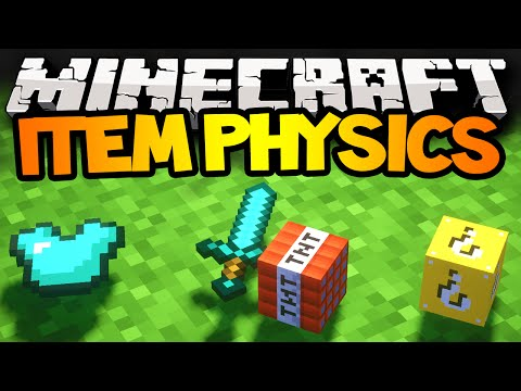 mods - Minecraft Mods - Epic Item Physics Mod, 3D Awesomeness! Subscribe and never miss a Video - http://bit.ly/CraftBattleDuty Follow me on twitter! https://twitter.com/CraftBattleDuty In this Mod...