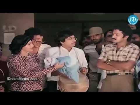 City Rowdy Movie - Madhavi, Rajasekhar, YG Mahendra Action Scene