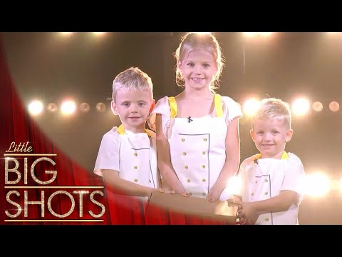 Viral Sensations The Mini Chefs! @Best Little Big Shots