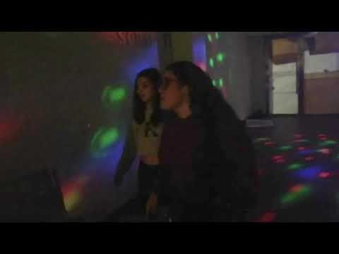 Las chicas en las fiestas