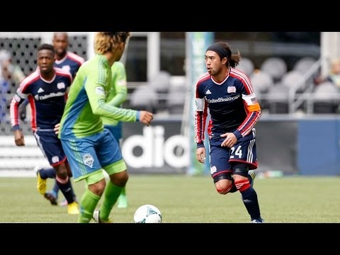 highlights - Seattle Sounders FC receive the New England Revolution at Century Link Field for the two clubs' only meeting of the season. Subscribe to our channel for more...