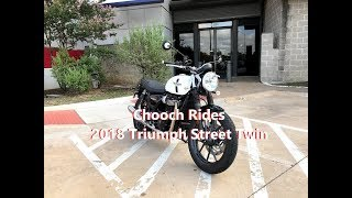 1. Chooch Rides - 2018 Triumph Street Twin